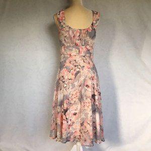 Signature Ella Romantic Rose Sleeveless Dress